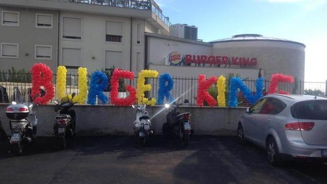 burger king catania eventi