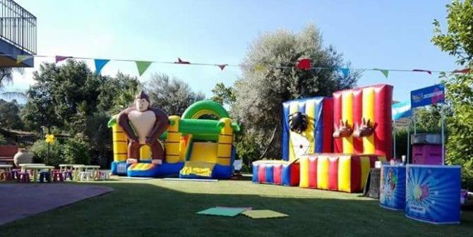 Happy-Monkey-Gonfiabile-Catania-Siracusa