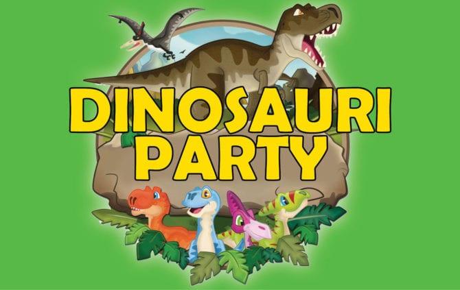 Dinosauri-Party-Miniatura