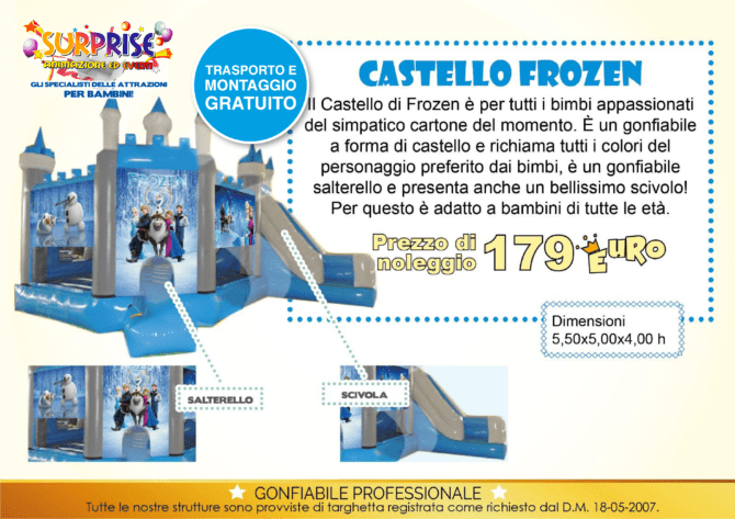castello frozen