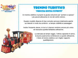 Trenino Turistico Elettrico