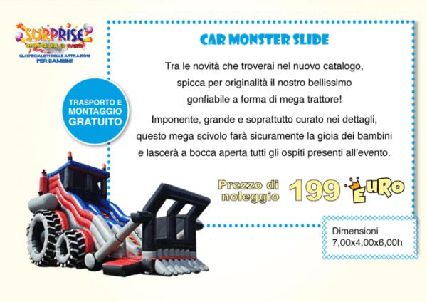 Car Monster Slide