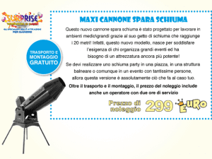 Maxi Cannone Spara Cannone