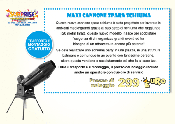 Maxi Cannone Spara Cannone