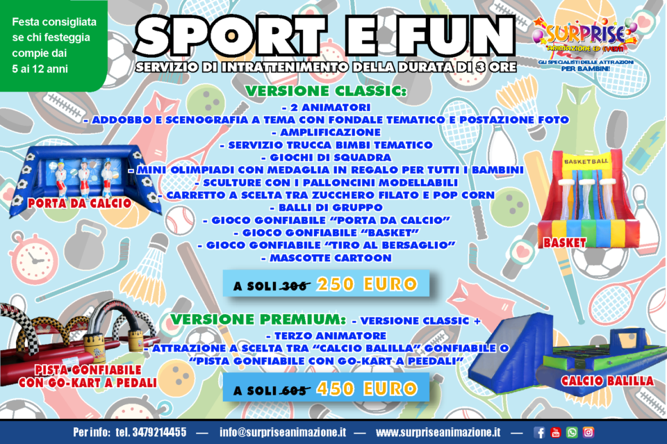 sport and fun