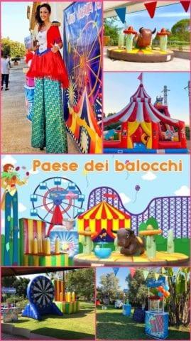 Collage Paese dei Balocchi