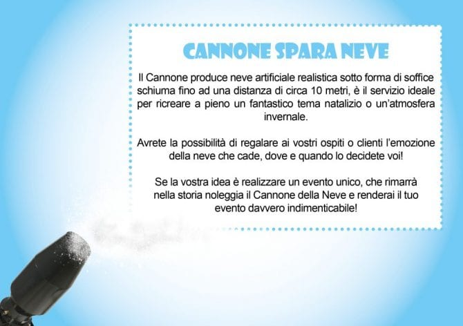 cannone spara neve