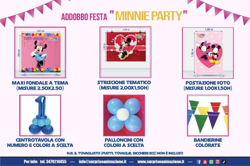 addobbo-minnie-party