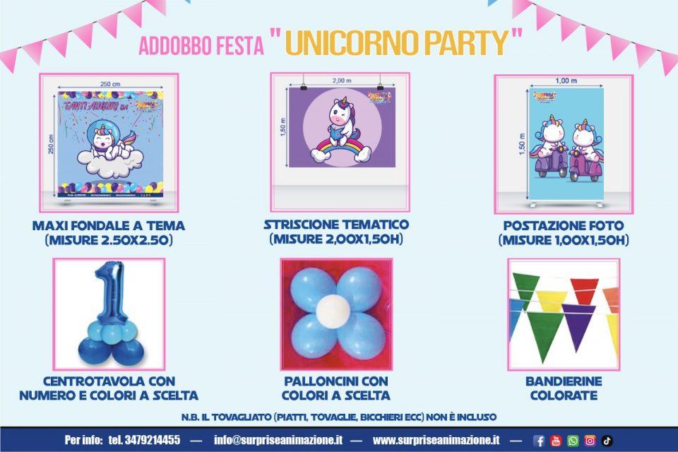 unicorno-party addobbo